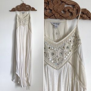 Lucky Brand Beaded Shell Dress